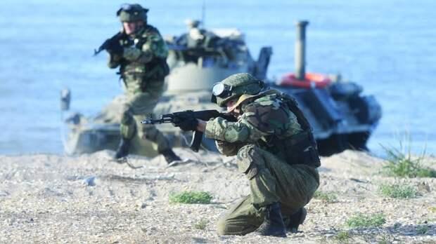 Охрана побережья: в Крыму прошли военные учения РФ