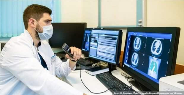 Москва расширит эксперимент по внедрению искусственного интеллекта в здравоохранение. Фото: М. Мишин, mos.ru
