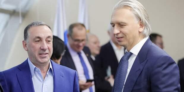 ЦСКА поздравил главу РФС Дюкова с избранием в исполком УЕФА