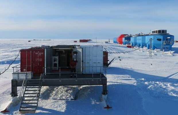 Станция в Антарктике