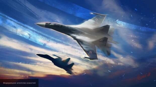 ВМС США заявили о перехвате своего самолета-шпиона российским Су-35 над Средиземным морем