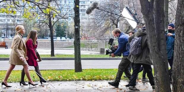 Собянин принял решение о поддержке молодых режиссеров, снимающих фильмы о Москве Фото: Ю. Иванко mos.ru