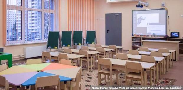 Собянин назвал сроки окончания строительства новой школы в Солнцеве. Фото: Е. Самарин mos.ru