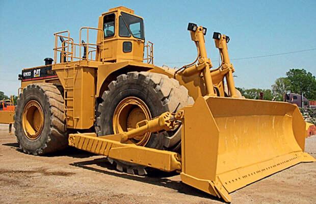 Колесный бульдозер Caterpillar 854K