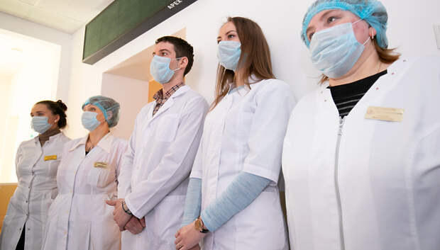 Свыше 1 тыс медиков заселили в подмосковные гостиницы