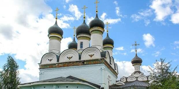 Реставрация церкви Покрова Пресвятой Богородицы в СЗАО завершится осенью
