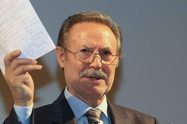 Художественный руководитель Государственного академического Малого театра Юрий Соломин.