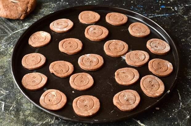 Печенье Пуговки. Вкусный и очень простой рецепт 3