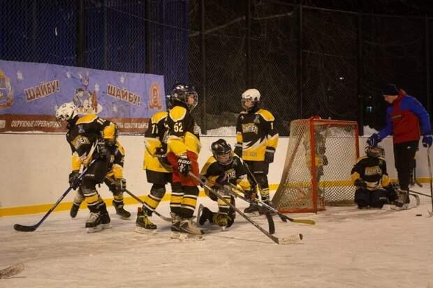 Межокружной хоккейный турнир в Левобережном был перенесен на 27 февраля