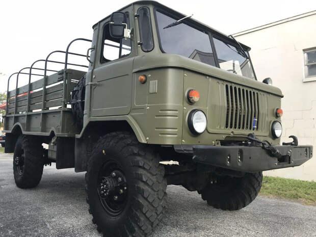 В США продают ГАЗ-66 с пробегом 2600 км за смешные деньги