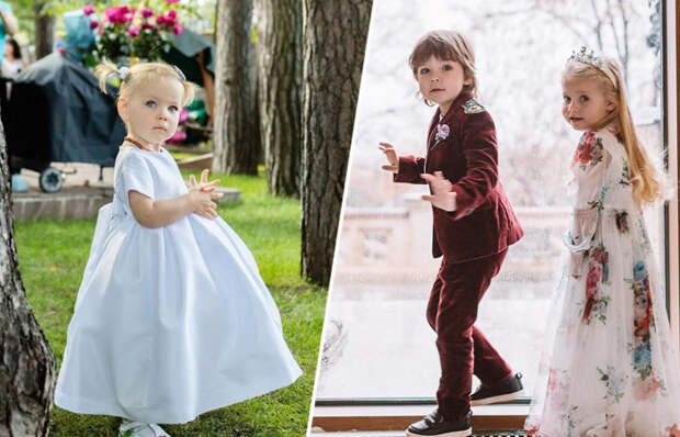 Самые популярные дети российских знаменитостей