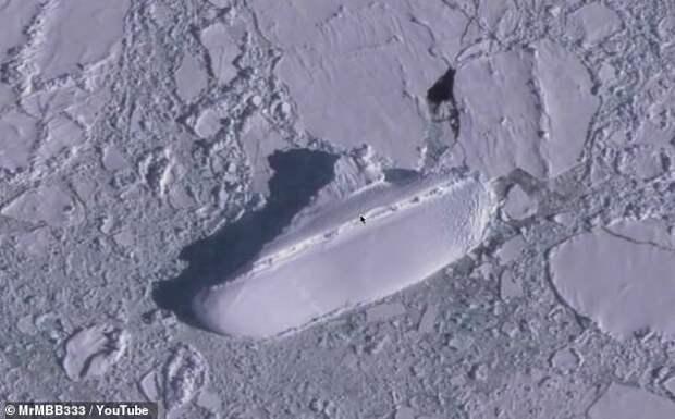 """В Антарктике нашли """"секретный корабль нацистов"""""""