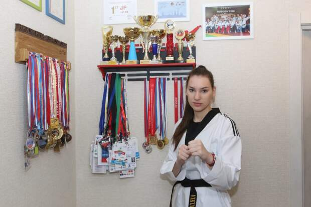 Анастасия учится в 11 классе / Фото: Ярослав Чингаев