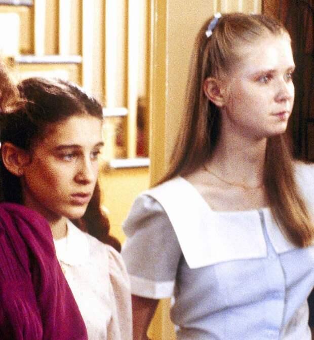 Сара Джессика Паркер и Синтия Никсон в фильме «Мое дитя, мое тело», 1982