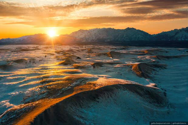 чарские пески, пустыня, забайкалье