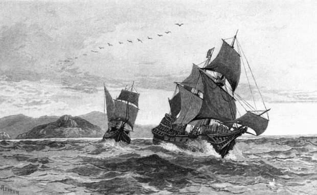 Загадка исчезнувшего флота тамплиеров