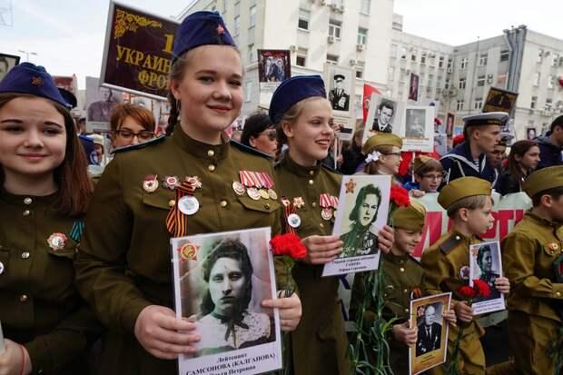 """В Союзе ветеранов рассказали, когда акция """"Бессмертный полк"""" пройдет на улицах России"""