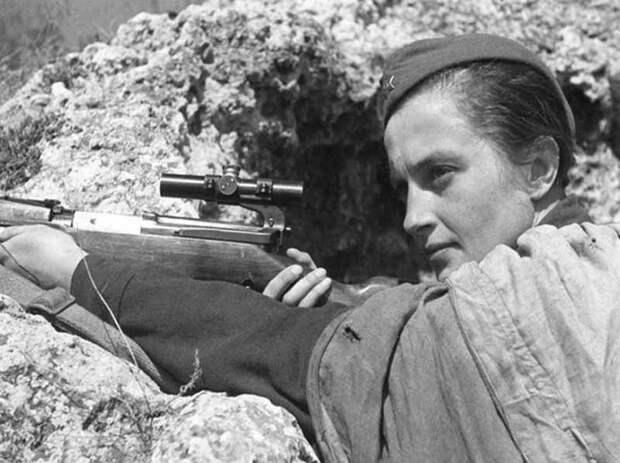 Женское лицо войны! До слез!