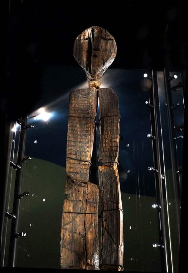 Шигирский идол содержит закодированное сообщение о происхождении человечества
