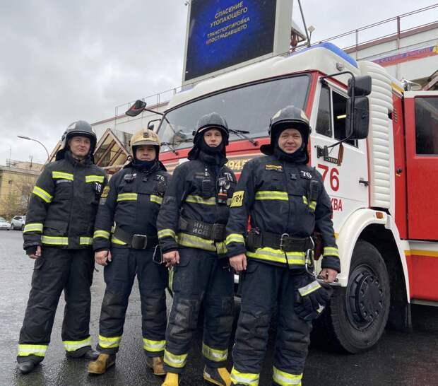 Пожарные / Фото: Пресс-служба МЧС по ЮВАО