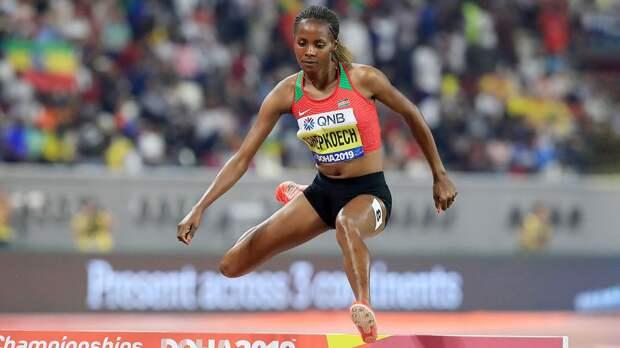 Чемпионка мира Чепкоеч установила рекорд в беге на 5 км