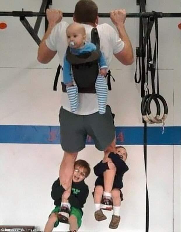 Папа может, папа может быть кем угодно: крутые отцы, с которыми детям ну очень весело