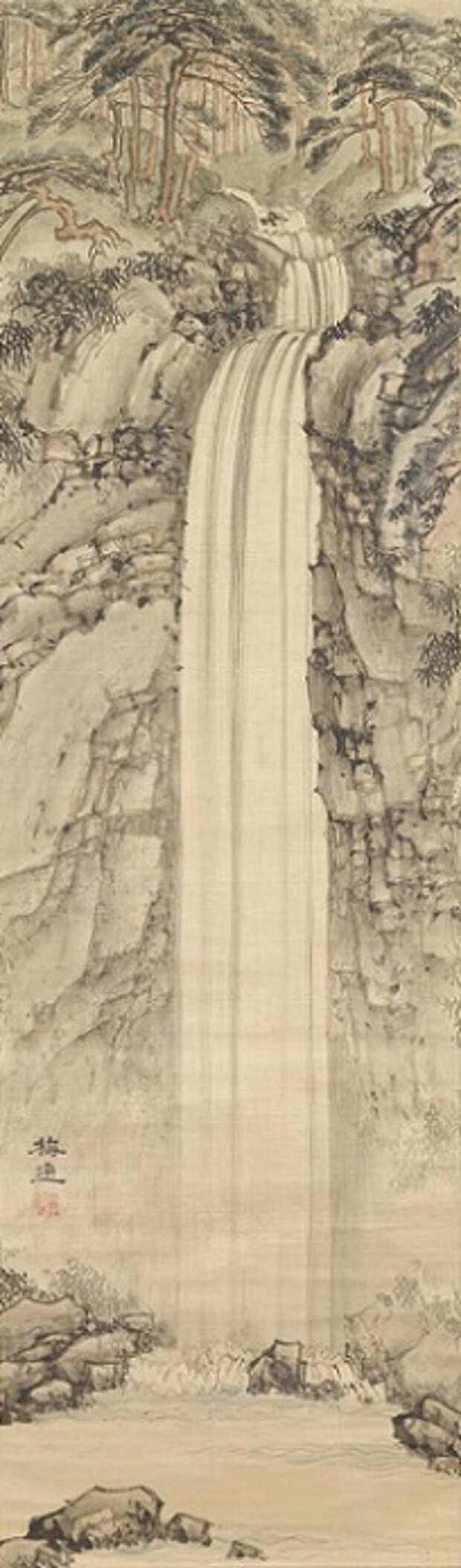 Yōrō waterfall (204x694, 141Kb)