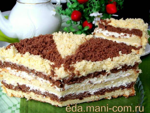 Махровый торт « Кудряш»