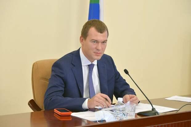 Дегтярёв лидирует на выборах губернатора Хабаровского края