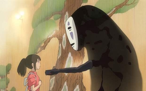 Интересные факты о мультфильмах Миядзаки: Унесенные призраками, 2001 год