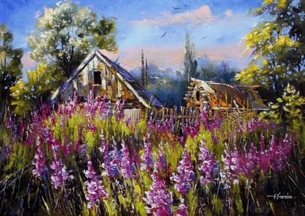 художник Александр Ходюков картины – 18