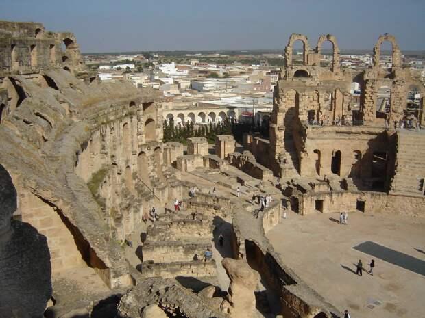 Развалины Древнего Карфагена.