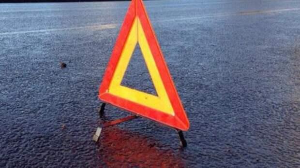 ДТП в Севастополе: обе иномарки получили серьёзные повреждения (ВИДЕО)