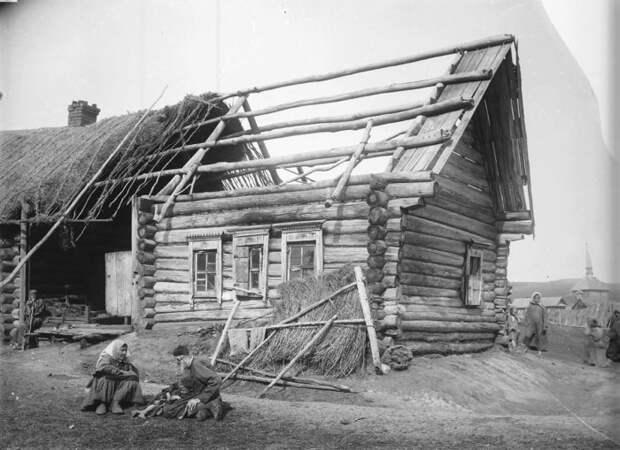 Изба татарина Саловатова. Нижегородская губерния, Сергачский уезд, 1891-1892 год.