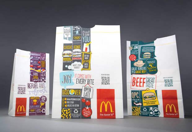 Клиенты McDonald's смогут сканировать упаковку, чтобы получить информацию о еде