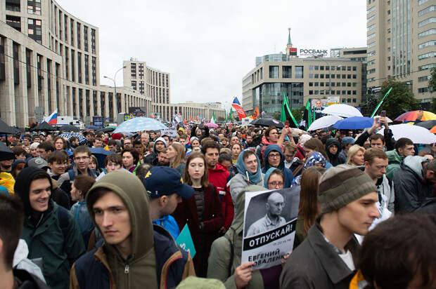 Грубое вмешательство: как Запад манипулирует митингующими в Москве