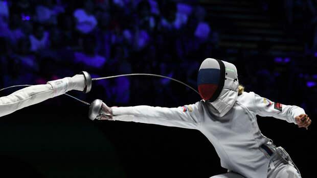 Шпажистка Колобова уступила в своем первом бою на Олимпиаде в Токио