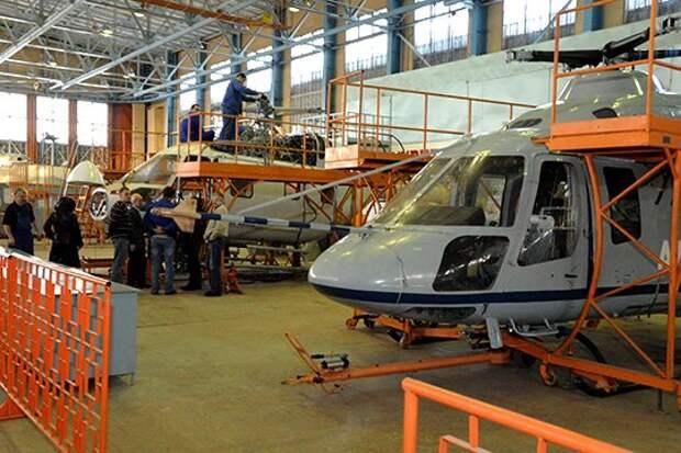 Чёрная полоса для Казанского вертолётного завода