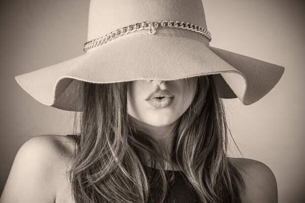 Мода, Красивая Женщина, Женщина, Шляпа, Покрытие