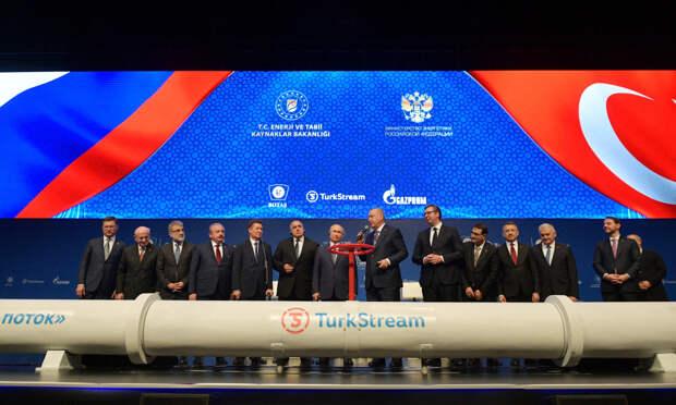 США выступают против второй линии газопровода «Турецкий поток»