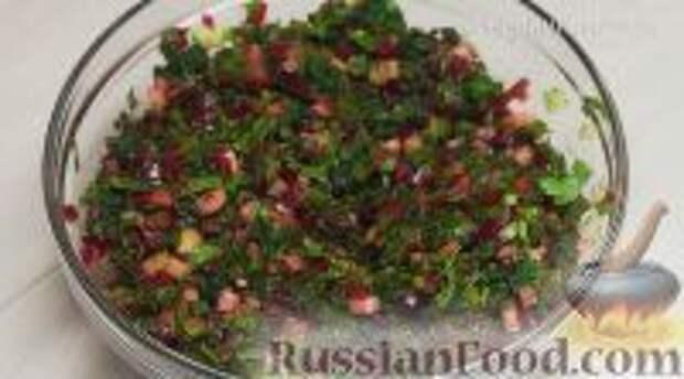 Фото приготовления рецепта: Ботвинья - шаг №17