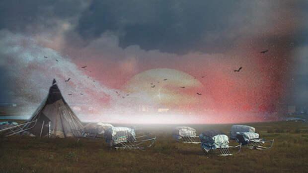 «Чёрные дыры» Ямала. Как в Западной Сибири появились таинственные кратеры
