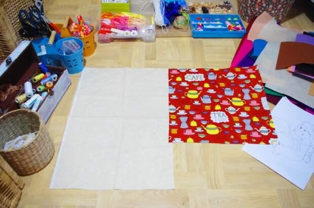 Развивающая подушка для детей (мастер-класс)