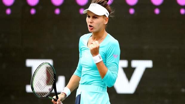 Кудерметова победила Канепи и пробилась в четвертьфинал турнира в Стамбуле