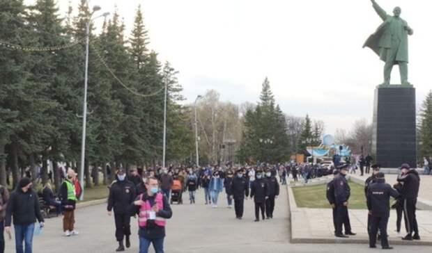 В Уфе мужчине выписали штраф на 2,5 тысячи рублей за участие в несогласованной акции