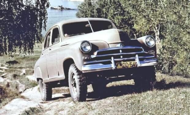 Первый советский кроссовер: мифы и факты о ГАЗ-М72