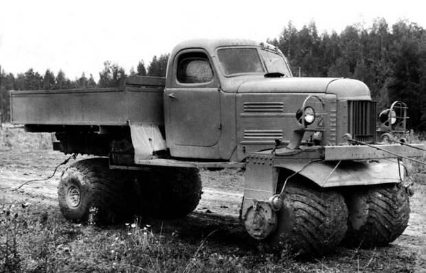 Экспериментальные вездеходы СССР, на которые возлагались большие надежды