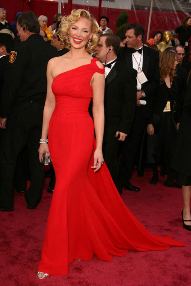 Кетрин Хейгл (Katherine Heigl) red dress