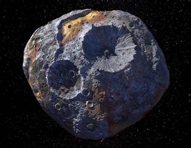NASA готовит миссию к астероиду, который стоит 10 квинтиллионов долларов