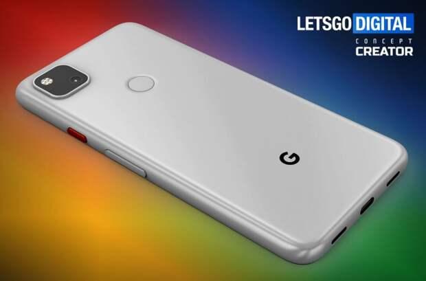 Стала известна стоимость «бюджетного» Google Pixel 4a